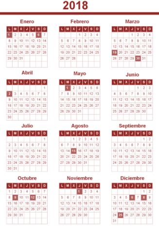 Calendario Laboral De Valencia.Detalle Notica
